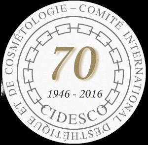 CIDESCO 70 yr logo round